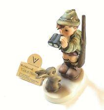 Vintage Goebel Hummel Figurine Good Hunting #307 Tmk3 1955 Germany