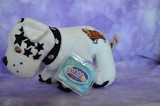 Webkinz ROCKERZ Bad to the Bone Bulldog  NWT ~  FAST SHIPPING ~ Harley
