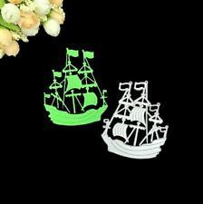Metal Ocean Sailing Boat Paper Die Cutting Dies Scrapbooking Wedding Greeting