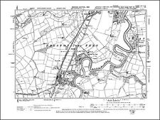 Stockton on Tees (S), Eaglescliffe Junction, old map Durham 1899: 56NE repro