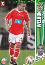 108 WELDON BRAZIL SL.BENFICA Changchun Yatai.FC CARD MEGACRAQUES 2010 PANINI