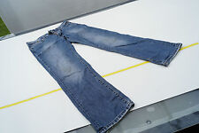 Replay & Sons Damen Jeans Hose kurz Schnitt Gr.36 154cm stone wash used blau #33