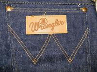 Vintage Wrangler Blue Bell Jeans Mens  Sanforized never worm 1950s  Sz  34X35