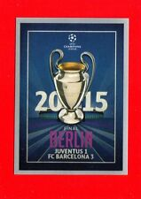 CHAMPIONS LEAGUE 2015-16 -Topps Figurine-stickers n. 607 - BERLIN 2015 -New