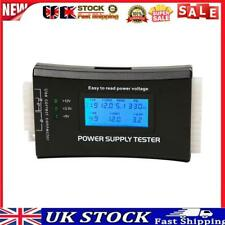 More details for digital lcd display pc computer 20/24 pin power supply tester measure tool