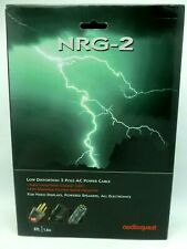 Audioquest NRG-2 Power Cable 6' 3 pole AC Power Cable