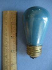 1 --Vintage Brass Base Marquee Sign 10 Watt Light Bulb - GREEN