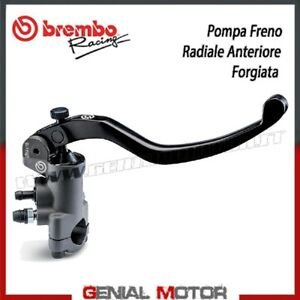Pompe Frein Radiaux Antérieur Brembo Racing PR 19x18 - Forgé - Long Levier