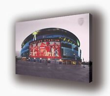 "Arsenal - Emirates Stadium - Wall Canvas - 25""x16"" (63x40cm)"