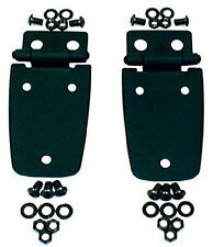 Rugged Ridge Jeep Wrangler TJ Hood Hinges Pair Black 1997-2006 (11205.02)