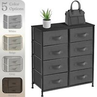 Sorbus Nightstand with 8 Drawers - Dresser Storage Chest Tower Unit for Bedroom