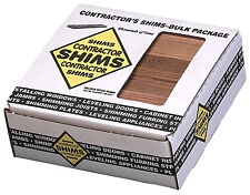 Contractor Wood Shims, 8-In., 84-Ct.