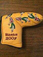 Noob Scotty Cameron 2007 Hawaiian Open Hula Girls Blade Putter Headcover Rare