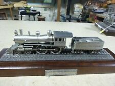 1/89  Danbury Mint PEWTER ENGINE-EMPIRE STATE EXPRESS 1 OF12 GREAT LOCOMOTIVES