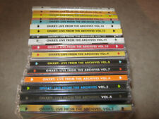 WXRT-ONXRT:Live From The Archives CD's LOT Vol.3 thru 19 ALL SEALED!