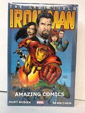 Marvel IRON MAN BY BUSIEK & CHEN OMNIBUS Hardcover HC - NEW - MSRP $100