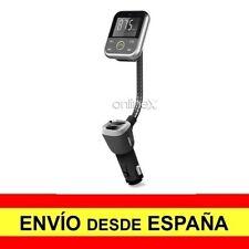 Cargador Mechero MP3 Manos Libres Bluetooth USB Transmisor FM SD NEGRO a2810