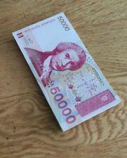 More details for 50xcroatia 50000 dinars (p26) 1993 unc
