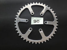 "Spécialités TA Chainring 3/32"" (2.38) 44t INNER Road 80 BCD Vintage Bicycle. NOS"