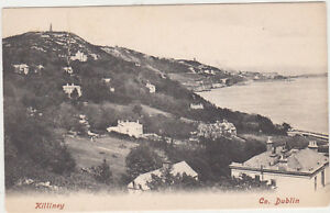 Killiney,Ireland,View of Town,County Dublin,c.1909