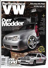 Performance VW Auto Magazine Over Modder Jetta Wagon Mk4 Golf Rabbit Wide Body