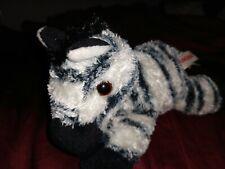 Zany Mini Flopsie Aurora Plush Zebra