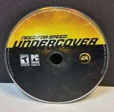 Need for Speed: Undercover (PC, 2008) DISC ONLY