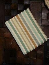 PARKERTEX tessuto stoffa scampolo scampoli tappezzeria righe misto lino 130x110