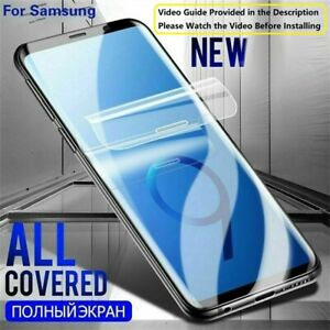 Hydrogel Film Screen Protector For Samsung Galaxy S21 S21+ Plus Ultra 5G Case