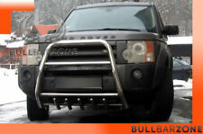 LAND ROVER DISCOVERY 3 2004-2009 PARE-BUFFLE HAUT AVEC GRILLE DE PROTECTION INOX