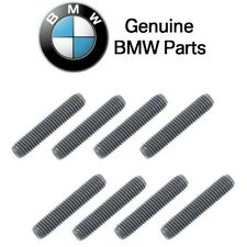 For BMW GENUINE Exhaust Manifold Stud 1602 2002 318I 325IS 528I 530I 735I 8 PCS
