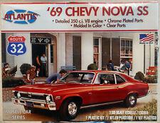 Atlantis 2006 1969 Chevrolet Nova SS 1:32  wieder neu 2021 Bausatz