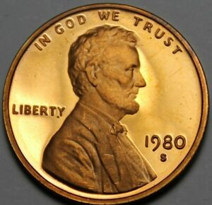 United States Proof 1980-S Lincoln Memorial Cent We Have Proofs~FS