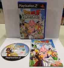 Gioco Game SONY Playstation 2 PS2 Play PAL ITALIANO DRAGON BALL Z INFINITE WORLD