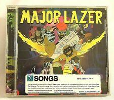 Major Lazer Free The Universe CD 2013 Secretly Canadian Rap Hip Hop