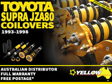YELLOW-SPEED RACING COILOVERS Toyota Supra JZA80 1993-1998 yellowspeed coil