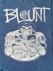 BLOUNT . Punk  NIKE Vintage 1996 T-SHIRT Ramones NOFX Green Day RANCID Blink 182