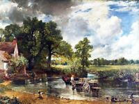 John Constable The Hay Wain Old Master Painting Picture Repro Canvas Art Print