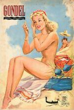 GONDEL - Zeitschrift Magazin - Heft 6 von 1950 - Models Musik Stories - B16773