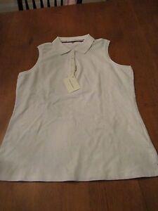 Womens Fairway & Greene Golf Shirt, NWT, L