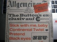 """7"""" EP- KULT - COVER - The BUTTON`S exlusiv - Stick with me,baby-Black Eyes + 2"""