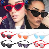 Cat Eye Vintage Trendy Womens Sunglasses Fashion Shades Retro Ladies Glasses