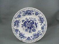 Churchill Oriental Garden Dark Blue Dessert Plate