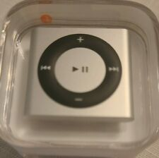 NEW 4th Generation Apple iPod Shuffle 2GB Silver Gray A1373 Factory Sealed
