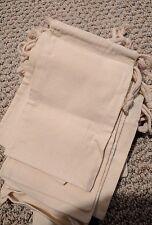 "Cotton Drawstring Muslin Bags 5""X 8"" - Pack of 24"