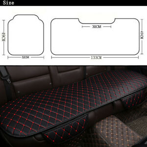 Car Seat Cover Cushion PU Leather Universal For Interior Accessories Four Season