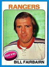 1975-76 Topps BILL FAIRBAIRN (ex) New York Rangers