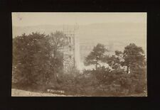 Somerset WINSCOMBE View of Church through trees pre1919 RP PPC