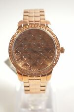 GUESS W0544L1 LOVE ROSE GOLD HEARTS DIAL LADIES WATCH