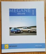 Prospekt/brochure DOCUMENTATION RENAULT MÉGANE Berline & Coupé - 12/2005 - NEUVE